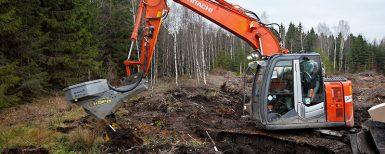 Skogsgrävaren – billig och mångsidig
