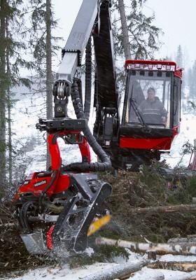 Stefan Wiklund har jobbat i 28 år och har därmed minst antal år i maskinlaget.