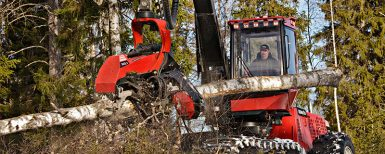 Komatsu Forest effektiviserar