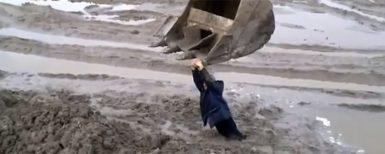 Gräv upp dig ur leran…