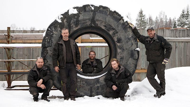 Emmaboda Svets & Maskinservice är nyblivna medlemmar i Däckteam.