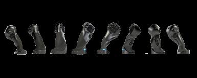 Handtaget för ergonomi och körglädje
