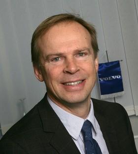 Hans Börjesson, chef för nordiska marknaden på Volvo Lastvagnar.