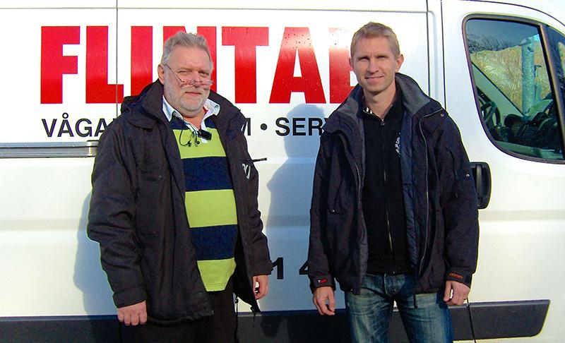 Till vänster; Mikael Hulander och Kristoffer Gustafson.