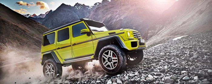 Mercedes G 500 4×4² inviger Geneve-salongen
