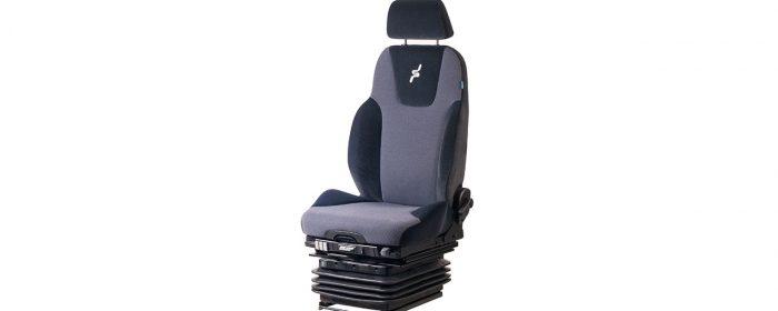 Ny stol för grävmaskiner