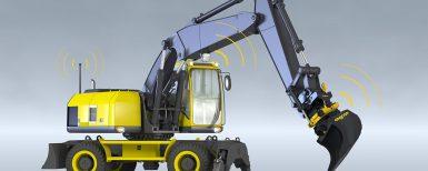 Tiltrotatorer anpassade för grävsystem/maskinstyrning