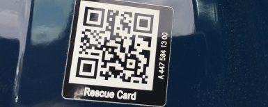 QR-kod räddar liv