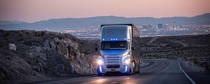 Självkörande lastbilar från Daimler godkända för allmän väg