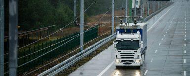 Eldrivna lastbilar testas i verklig trafik