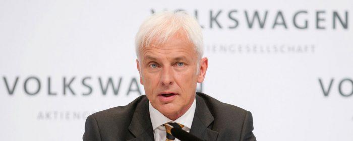 Ny vd för Volkswagenkoncernen