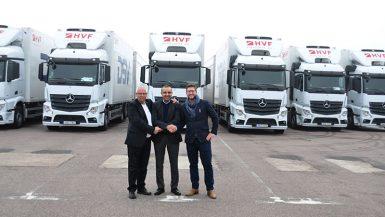 23 nya bilar till HVF Transport