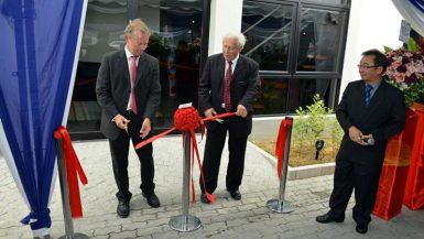 Hammar Maskin invigde ny anläggning