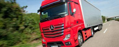 MBs lastbilar godkända för HVO