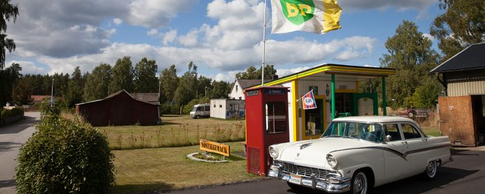 Billig bensin på Bosses BP-mack