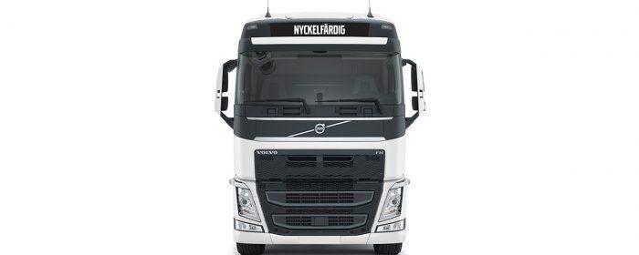 Volvo byter koncept till Nyckelfärdig lastbil