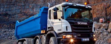 Självkörande lastbilar testas i gruvdrift