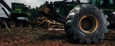 Ny serie med däck för skogsmaskiner