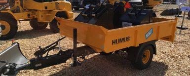 Ny 3CT-trailer för kompakta grävare