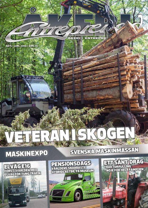 Åkeri & Entreprenad 5-2016