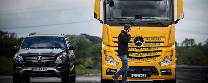 Nytt säkerhetssystem för lastbilar