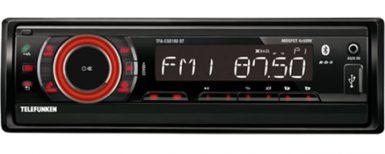 Fordonsradio med blåtandsfunktion för mobiler