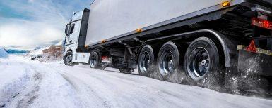 Nytt vinterdäck till lastbilstrailers