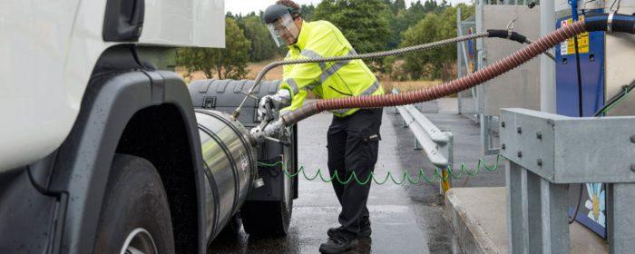 Scania Opticruise på gaslastbilar