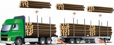 Klartecken för 74-tons lastbilar