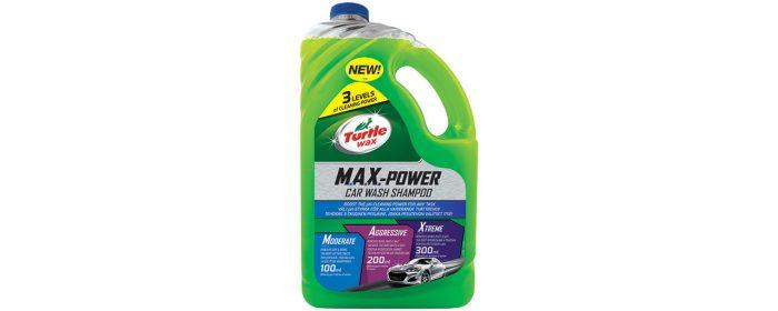 Bilschampo med flera rengöringsnivåer