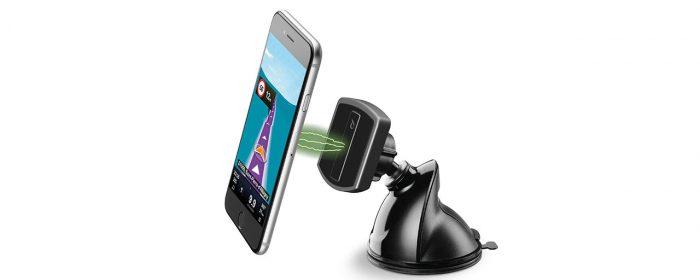 Helsäker magnethållare för smartphones