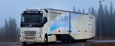 Testar hybridfordon för fjärrtrafik