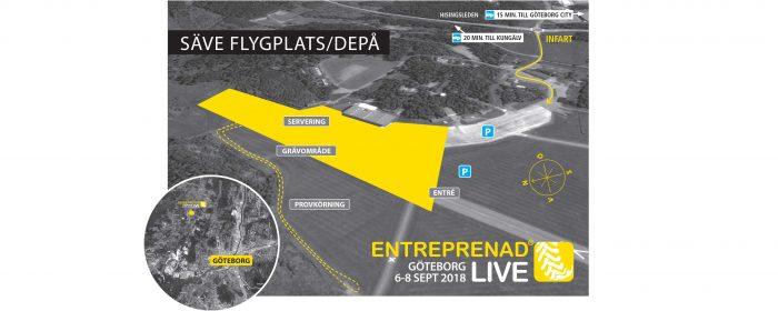 Entreprenad Live till Göteborg igen 2018