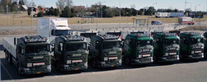 Scaniabilar till Försvarsmakten