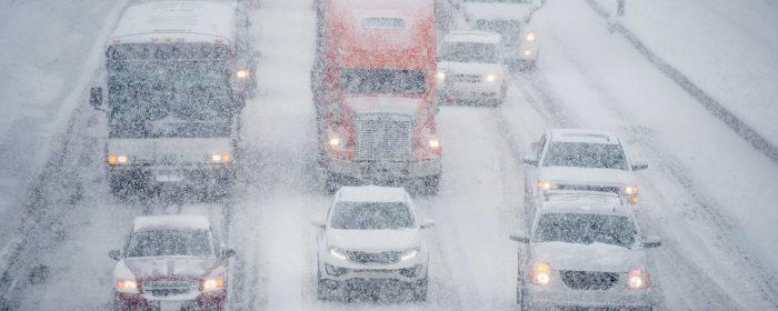 Förslag om vinterdäck på tunga fordons alla hjul