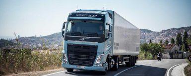 Volvos nya tunga lastbilar kör på gas