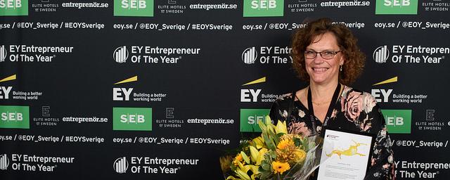 Årets kvinnliga stjärnskott region Svealand