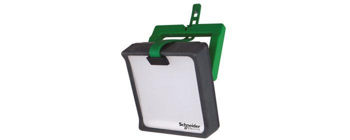 Portabel och laddbar arbetslampa