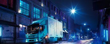 Volvos första helt eldrivna lastbil