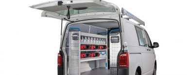 Nya förvaringsmöjligheter till servicebilen