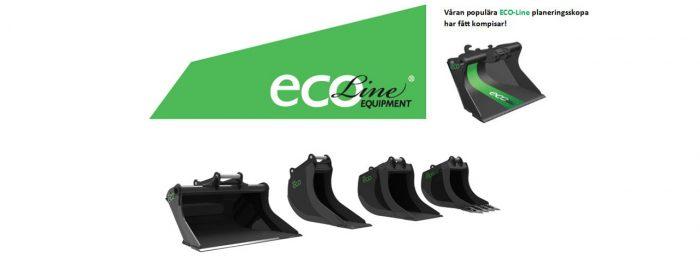 Utökat sortiment Eco-line skopor