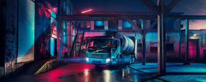 Ännu en eldriven lastbil från Volvo