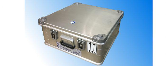 Säker förvaring för defekta litiumjonbatterier