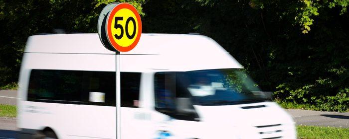 Även liten hastighetssänkning spar liv