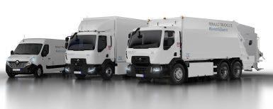 Ny generation eldrivna lastbilar