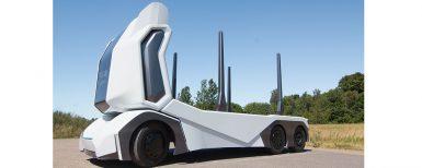 T-logen – självkörande och batteridriven timmerbil