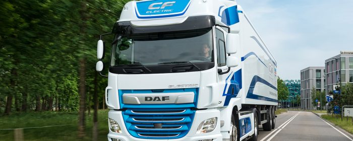 Innovativa DAF-lastbilar på IAA