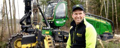 """Rooth Skogsvård är """"allti på hogget"""""""