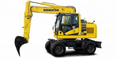 Ny hjulgrävare från Komatsu