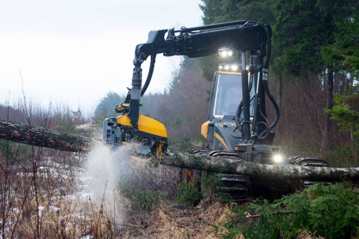 20-miljoners satsning på självstyrande skogsmaskiner